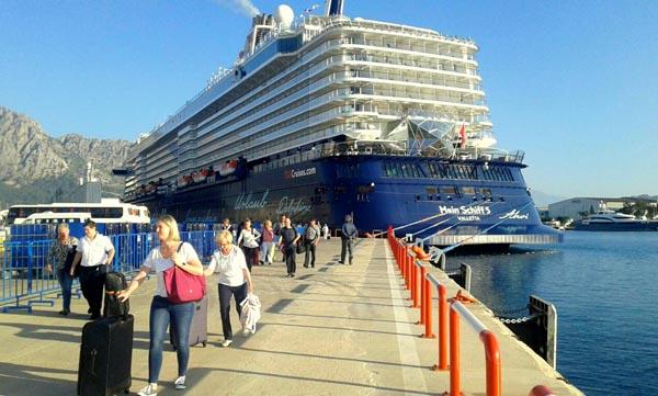 Gemi turisti sayısı 28 milyona ulaşacak