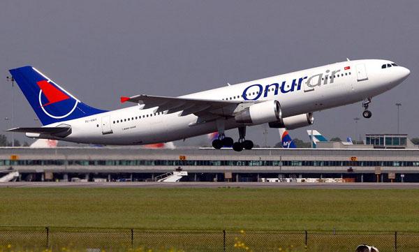 Onur Air'den Rusya'da 2 Makedonya'da bir yeni uçuş noktası