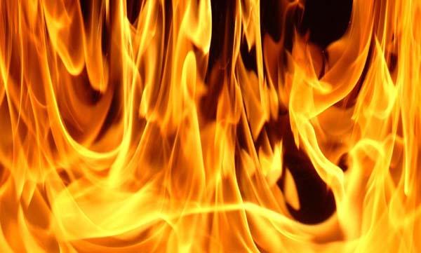 Termal otelde yangın