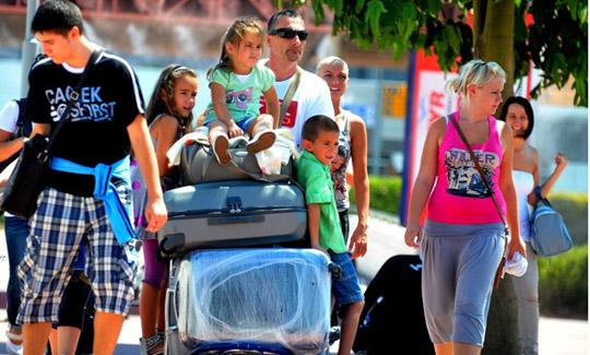 Her yıl nüfusunun 10 katı kadar turiste ev sahipliği yapıyor