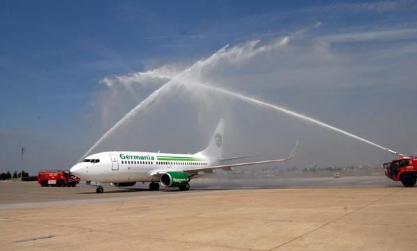 Germania yolcularını 99 avrodan uçuracak