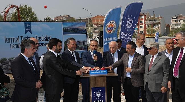Gemlik'e 16 milyon TL'lik turizm yatırımı