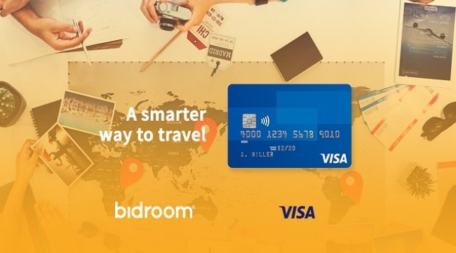 Bidroom, Avrupa Visa ile ortaklıkta anlaştı