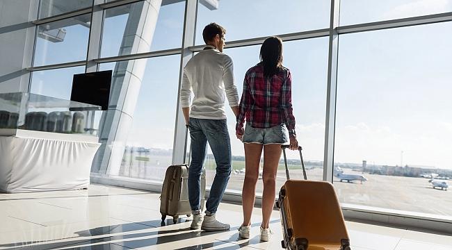 Turizm merkezlerindeki havalimanlarında artış devam ediyor