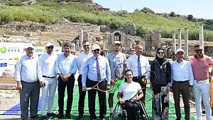 Perge'den''Antalya Open''e merhaba