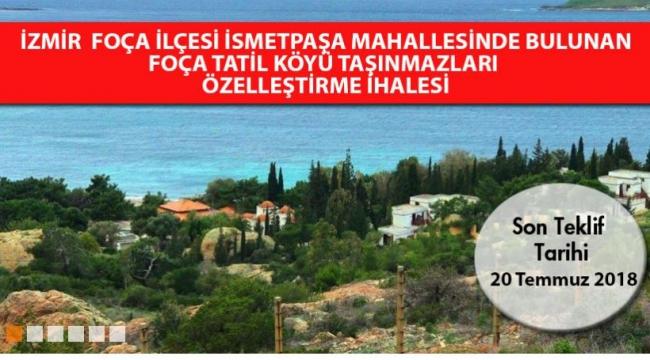 Türkiye'nin ilk tatil köyü ihaleye çıkarıldı