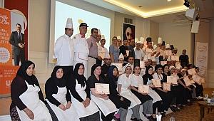 64 otel personeline ''Güvenilir Eller'' sertifikası