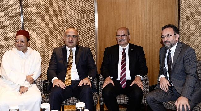 Bakan Ersoy, Fas Milli Günü resepsiyonuna katıldı