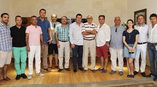 Bodrum'lu otelciler Başkan Kocadon'u ziyaret etti