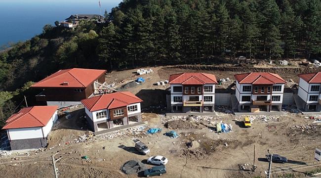 Ordu'ya 11 dairelik, 5 adet villa tipi otel yapılacak