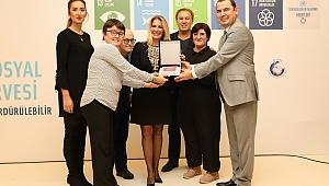 ISG'ye kurumsal sosyal sorumluluk ödülü