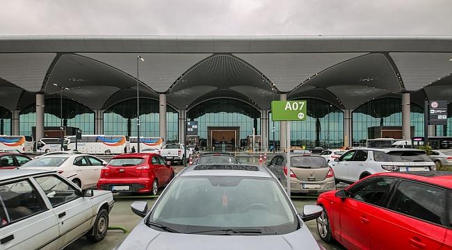 İstanbul Havalimanı'nda otoparklar ücretsiz!