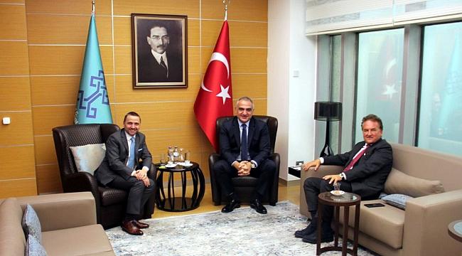 Bakan Ersoy, ''Binden fazla Alman acenta İstanbul'a gelecek''