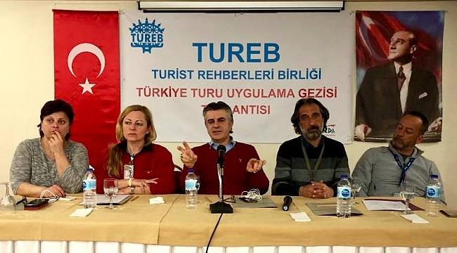 Rehberler, Türkiye turu uygulama gezisinde