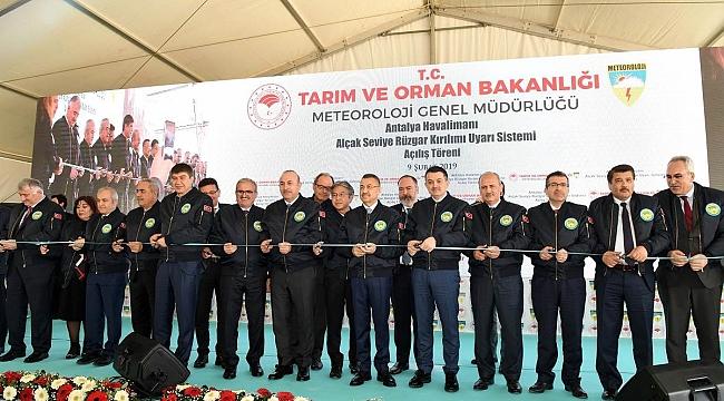 Türkiye'de ilk uyarı sistemi Antalya Havalimanı'na