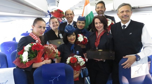 İlk kez Hintli bir hava yolu şirketi İstanbul uçuşlarına başladı