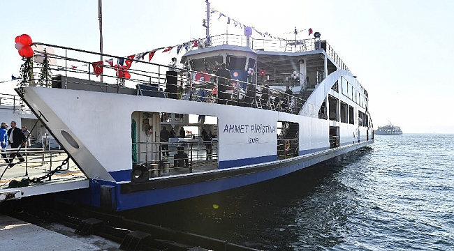 İzmir filosuna iki gemi daha katıyor
