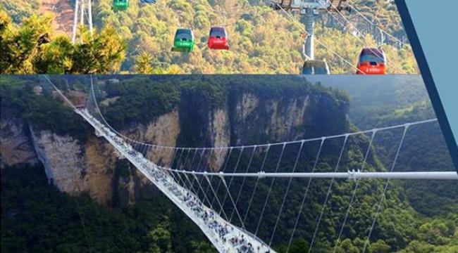 Kapıkaya Kanyonu'na cam köprü ve teleferik yapılacak