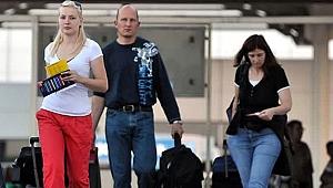 Rus turist Türkiye'ye gitmenin yolunu buldu