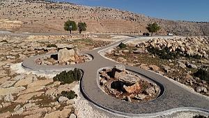 Dolmen kaya mezarları turizme kazandırıldı