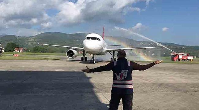 THY 7 yıl aradan sonra Zonguldak seferlerine başladı