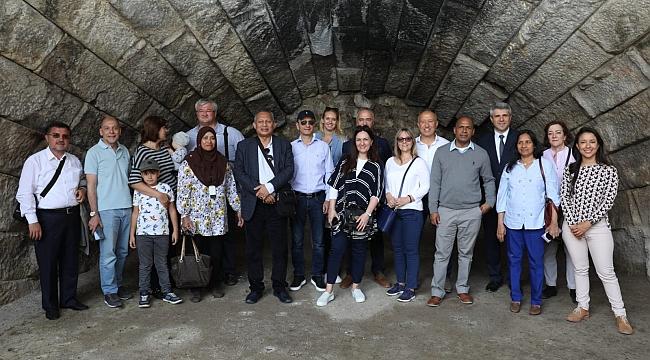 TÜRSAB 9 ülkenin büyükelçisini Bursa'da ağırladı