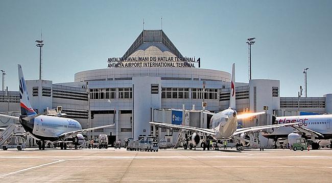 Antalya, Charter uçuşlarda yine Avrupa'nın zirvesinde