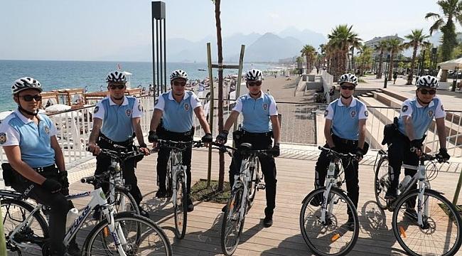 Bisikletli Martı Timleri sahillerde göreve başladı