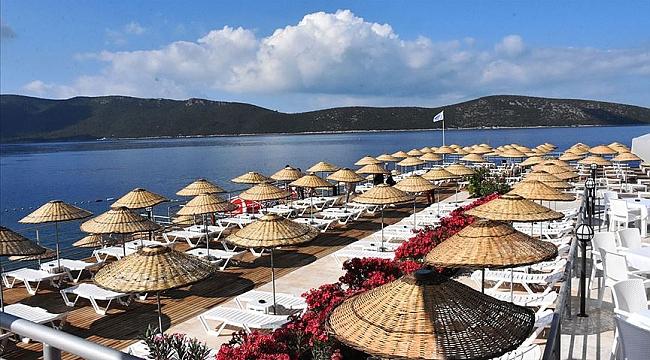 Bodrum ve Çeşme'deki halk plajları açıldı