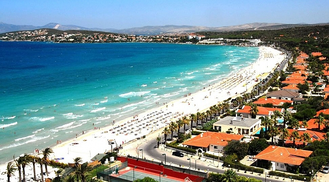 Çeşme Ilıca Plajı'na çifte sertifika