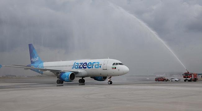 Jazeera İstanbul uçuşlarına başladı