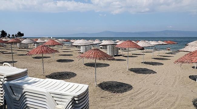 Mudanya'da sahillerin işgaline son verildi