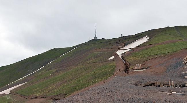 Palandöken Kayak Merkezi'nde yeni sezon hazırlığı