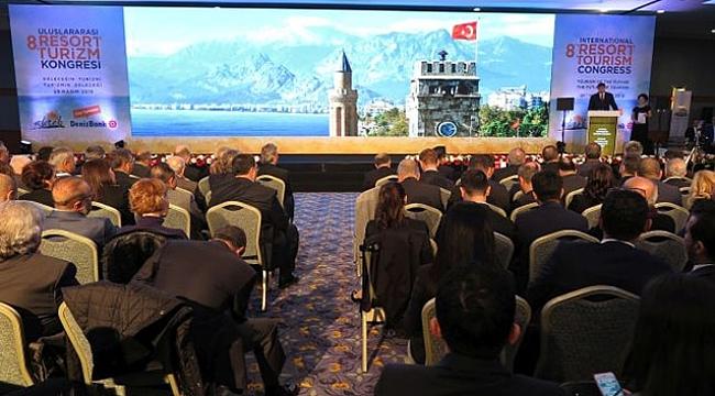 Uluslararası Resort Turizm Kongresi 27 Kasım'da