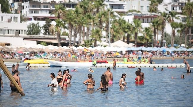Bodrum'da yabancı turist arttı, yerli turist azaldı