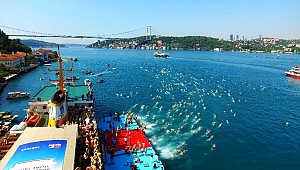 Boğaziçi Kıtalararası Yüzme Yarışı'na rekor başvuru