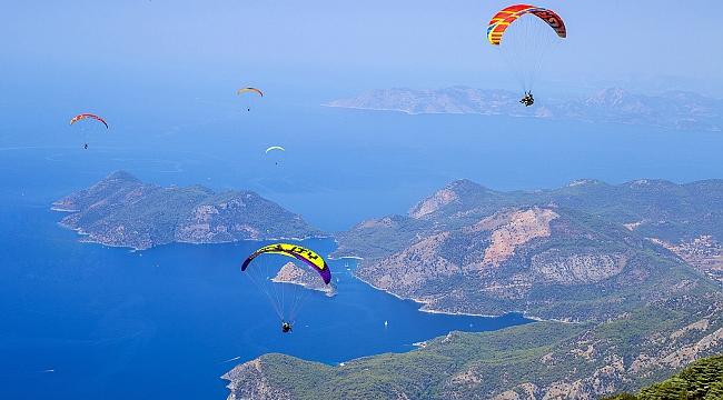 Fethiye'de tatil yapmanın bir nedeni daha; Ekstrem sporlar