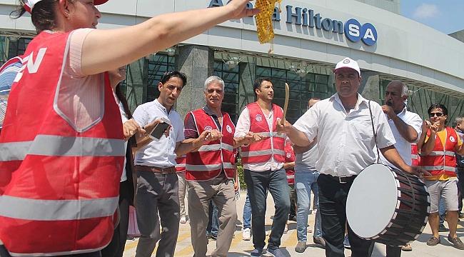 Hilton Oteli'ndeki grev sona erdi