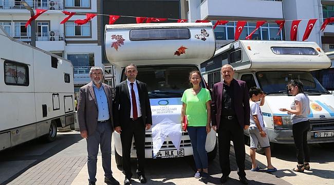 Karadeniz'de karavan turizminin gelişmesi için çalışıyorlar