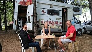 Ordu'da ''karavan turizmi'' başladı