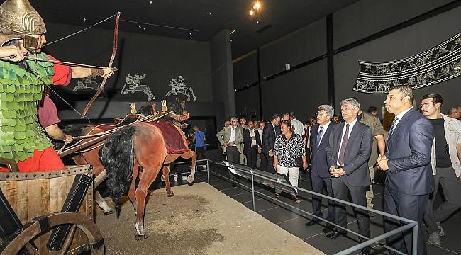 Müze ve ziyaretçi sayısı arttı