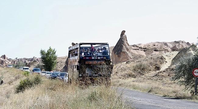 Big Bus ile Kapadokya turu yaptılar