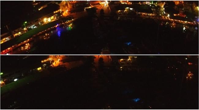 Bodrum'da ışık kirliliği olmasın