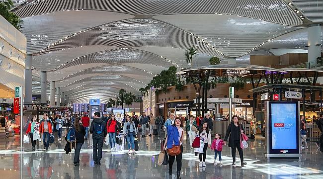 İstanbul Havalimanı'nda Kurban Bayramı  yoğunluğu