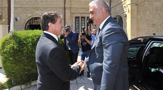 Kültür ve Turizm Bakanı Ersoy, KKTC'de