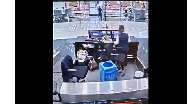 Ekşi'den depremde yolcuyu koruyan çalışanına tebrik