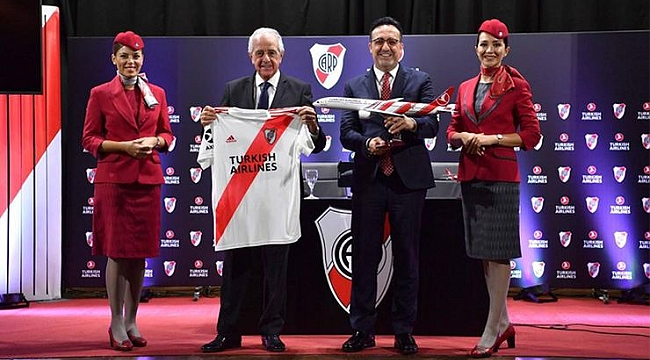 THY River Plate'in forma sponsoru oldu