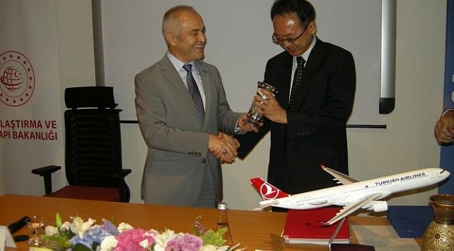 Türkiye-Japonya arasında havacılıkta tarihi işbirliği