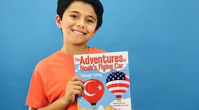 ABD'de yaşayan Türk çocuğundan kitaplı Türkiye tanıtımı