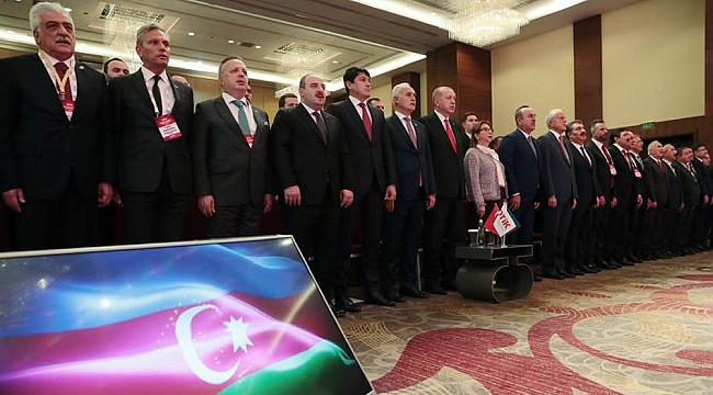 Bağlıkaya, Dünya Türk İş Konseyi Buluşmasına katıldı